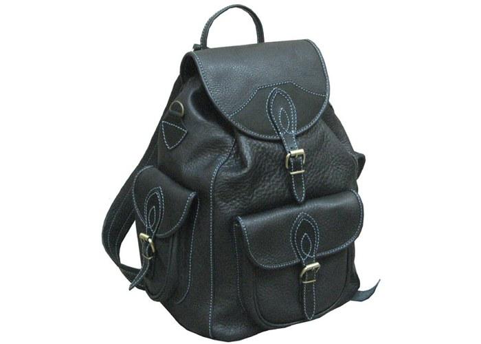 8d6e5bef2dfc Стильный кожаный рюкзак Saсhet купить по цене 6100.00 в компании Sefo